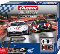Carrera DIGITAL 132 - Rennbahn ''High Speeder'' inkl. 2 Rennwagen