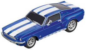 CARRERA GO!!! - Ford Mustang '67 - Racing Blue