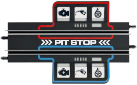 Carrera GO!!! Plus - Pit-Stop-Game, ab 6 Jahre