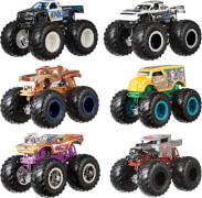 Mattel FYJ64 Hot Wheels Monster Trucks 1:64 Die-Cast 2er-Pack, sortiert