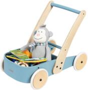 Pinolino Lauflernwagen 'Fiete', blau