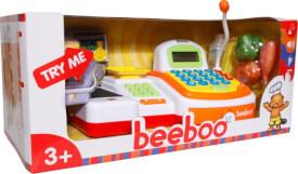 Beeboo Kitchen Kasse mit Laufband und Scannfunktion, Kaufläden & Zubehör, ca. 31x17x13 cm, ab 3 Jahren