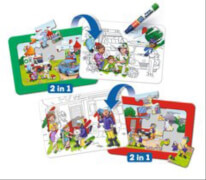 Ravensburger 04558 Aqua Doodle® Puzzle: Einsatzfahrzeuge