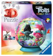 Ravensburger 11169 Puzzle Puzzle-Ball Trolls World Tour 72 Teile