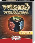 AMIGO 01958 Wizard Würfelspiel Ersatzblöcke