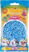 HAMA 207-46 Bügelperlen Midi - Pastell Blau 1000 Perlen, ab 5 Jahren