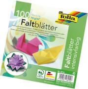 Folia - Faltblätter 15 x 15 cm 100 Blatt