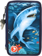 Dino World 3-Fach Federtasche LED UNDERW