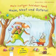 Schieber-Spaß - Hase, Nest und Osterei
