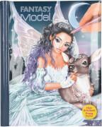 Depesche 10727 Fantasy Model Malbuch mit LED