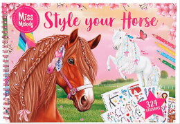 Depesche 10930 Miss Melody Style your Horse Malbuch