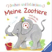 Ravensburger 43777 Kohl, Drehen und Entdecken Zootiere