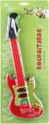 Boogie Bee Rockgitarre, rot, Länge ca. 40 cm, Kinderinstrument, ab 3 Jahren
